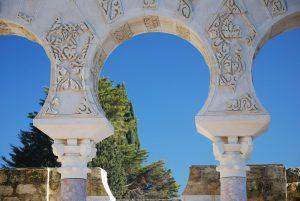 Medina Azahara. Detalle columnas