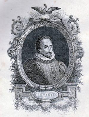 Retrato de Cervantes