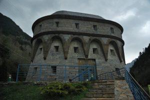 """Torre Fusileros (cerca de Canfranc """"viejo"""")"""