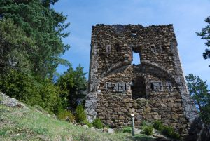 Torreón en la calzada romana (Boca del Infierno)