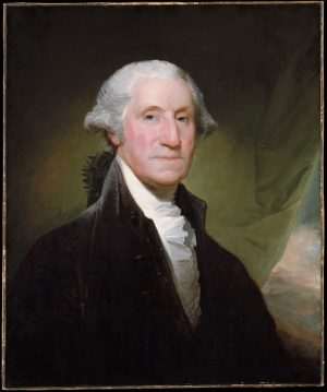 Gilbert Stuart: George Washington (the Gibbs-Channing-Avery portrait), begun 1795