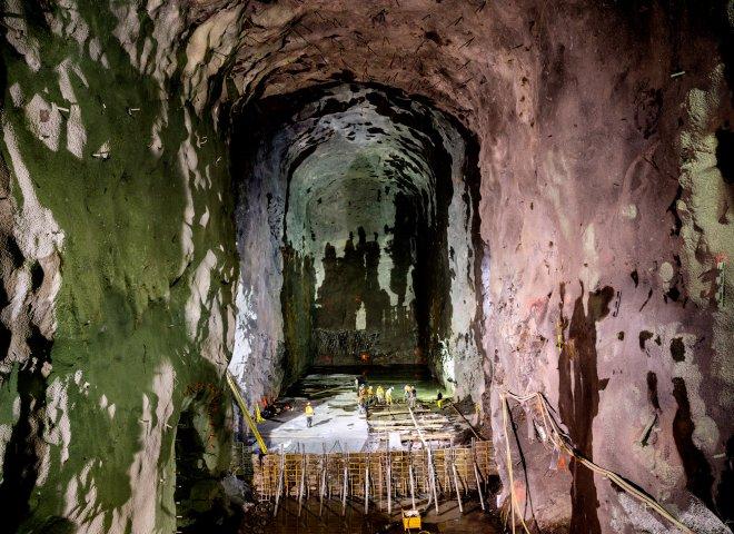 Túnel del metro en Nueva York