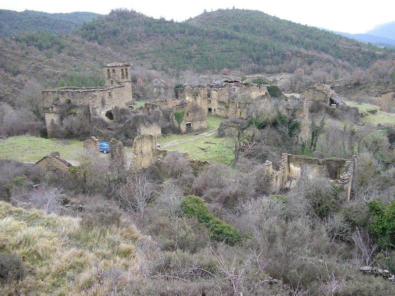 Vista general de Paternoy