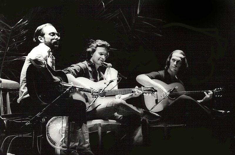 Al Di Meola, John Mclaughlin y Paco de Lucia