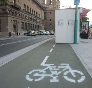 Movilidad urbana en Zaragoza