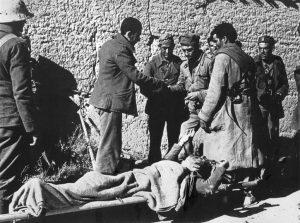 Robert Capa. Cerca de Fraga, 7 de noviembre de 1938