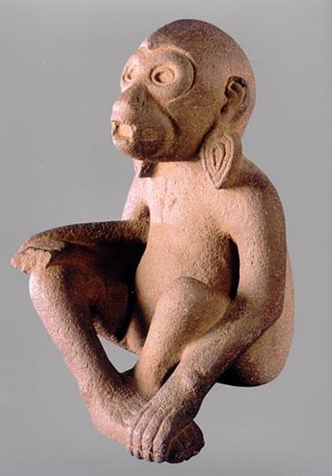Mono Sedente (Azteca)