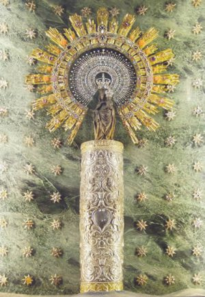 Altar de Nuestra Señora del Pilar
