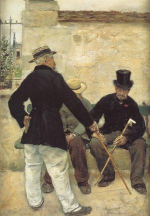 Jean François Raffaëlli: Los veteranos