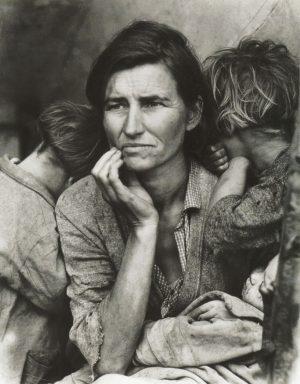 Dorothea Lange. Madre desarraigada