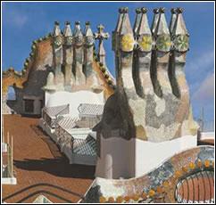 Gaudí. Casa Batlló (1904-1906). Paseo de Gràcia, 43 (Barcelona)