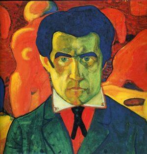 Kazimir Malevich. Self Portrait 1908-1910. © State Tretyakov Gallery, Moscow