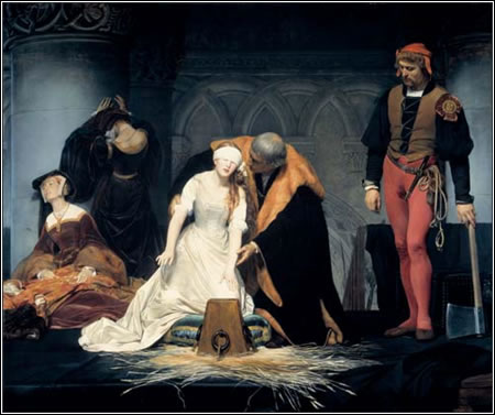 Paul Delaroche: The Execution of Lady Jane Grey. 1833