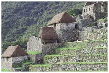 Machu Picchu. Collcas