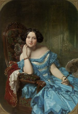 Federico de Madrazo: La condesa de Vilches, 1853