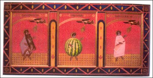 Retablo de los tres compañeros mártires