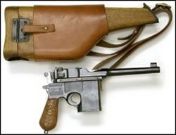 El Maquis. Pistola Mauser