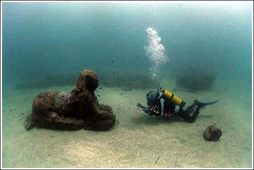 Sphinx. Époque de Sésostris II (Bahía de Alejandría)
