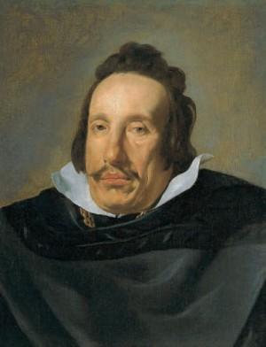 DIEGO VELÁZQUEZ (1599-1660). Retrato de un caballero (¿Juan de Fonseca? ), h. 1623-1630