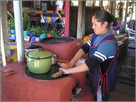 Premios ecológicos. Estufa para cocinar