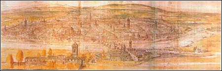 VISTA DE ZARAGOZA (1563) DE ANTHONIUS VAN DEN WIJNGAERDE