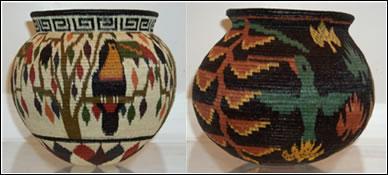 El pueblo Wounaan es conocido por sus artísticos cestos