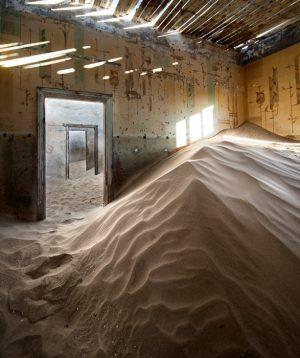 Álvaro Sánchez-Montañés Indoor desert. Kolmanskop