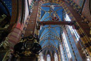 Cracovia. Basílica de Santa María