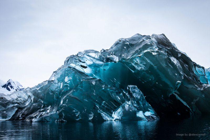 Flipped Iceberg