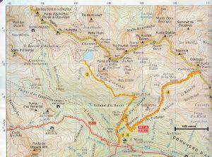 Itinerario Ibón de Acherito