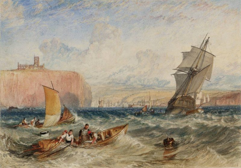 Whitby circa 1824 Joseph Mallord William Turner 1775-1851 Accepted by the nation as part of the Turner Bequest 1856 http://www.tate.org.uk/art/work/D18143