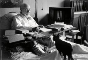 Henri Matisse/ © Robert Capa / © International Center of Photography / Magnum Photos