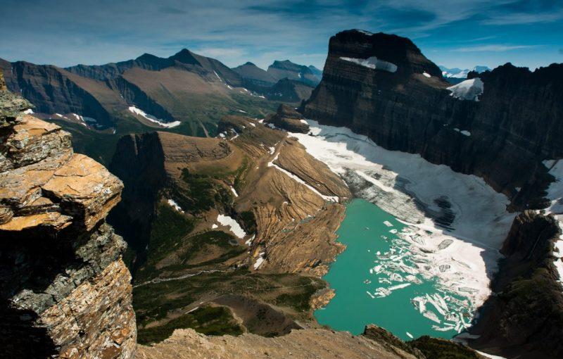 Garden Wall. Glaciar Grinnell