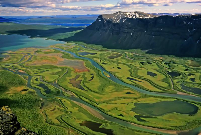 Parque Nacional de Sarek (Laponia, Suecia)