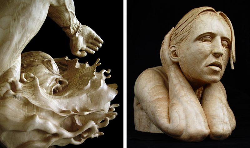 Stefanie Rocknak. Escultura figurativa
