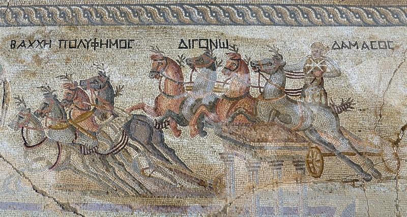 Un excepcional mosaico romano (Chipre)