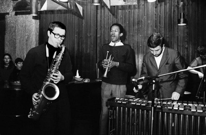 Gato Barbieri al saxofón (1966)