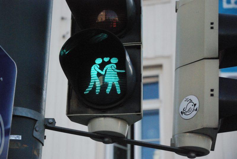 Semáforos amorosos. Viena. Oct/2017