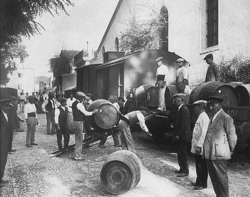 La Maquinilla, un tren urbano diferente. Cádiz, 1924