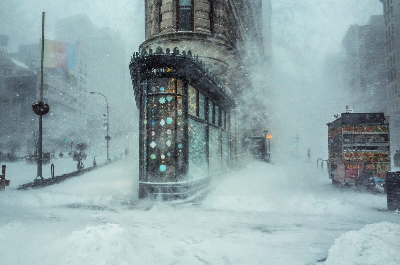 Michele Palazzo: Flatiron Building in the Storm