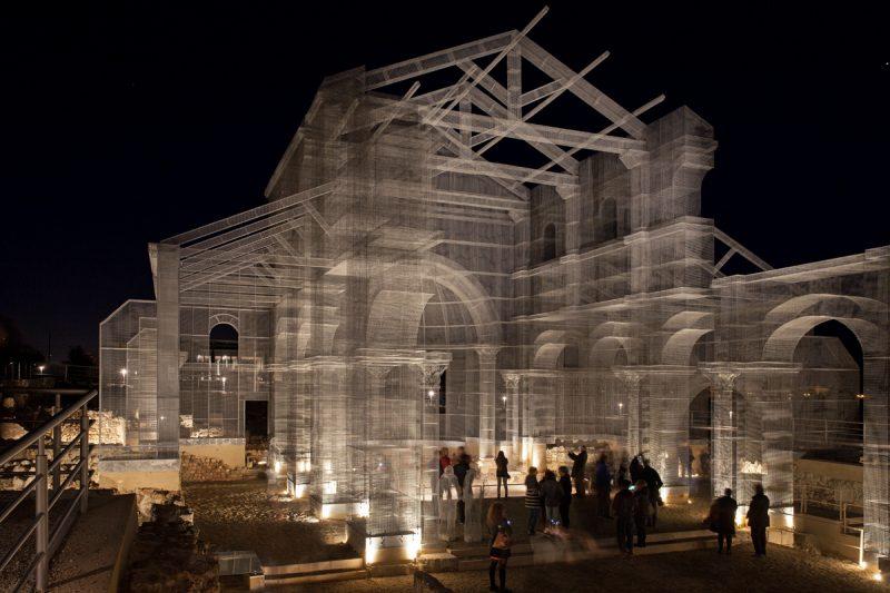 Edoardo Tresoldi. Basílica de Siponto.