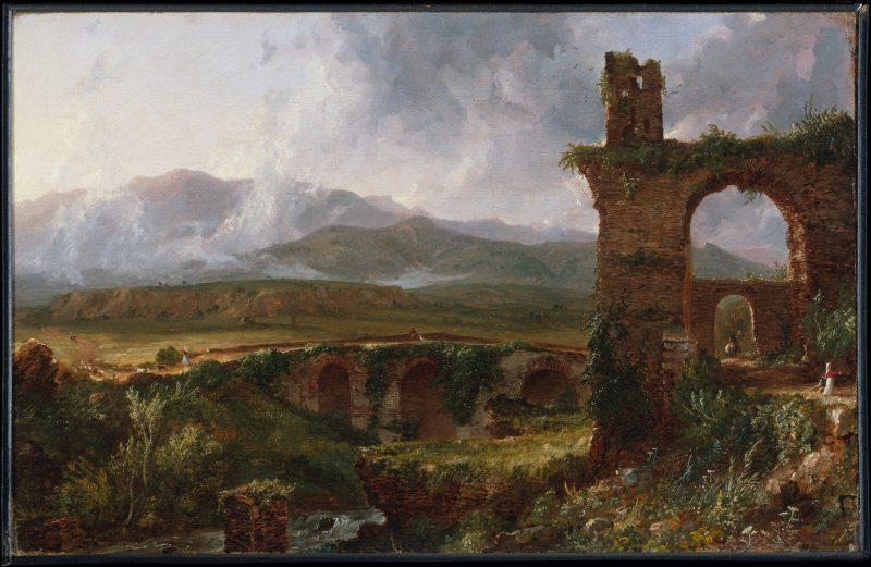 Thomas Cole. A View near Tivoli (Morning)