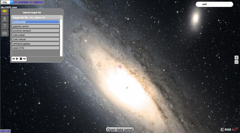 Explorar el cosmos desde casa