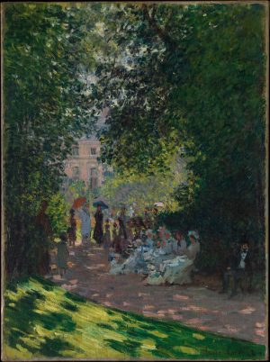 Claude Monet: The Parc Monceau. 1878. Metropolitan Museum of Art, New York