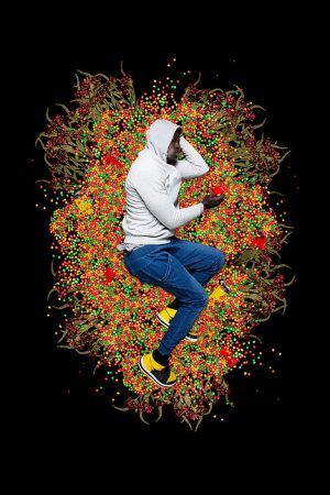 Ornar Víctor Diop: Trayvon Martin, 2012