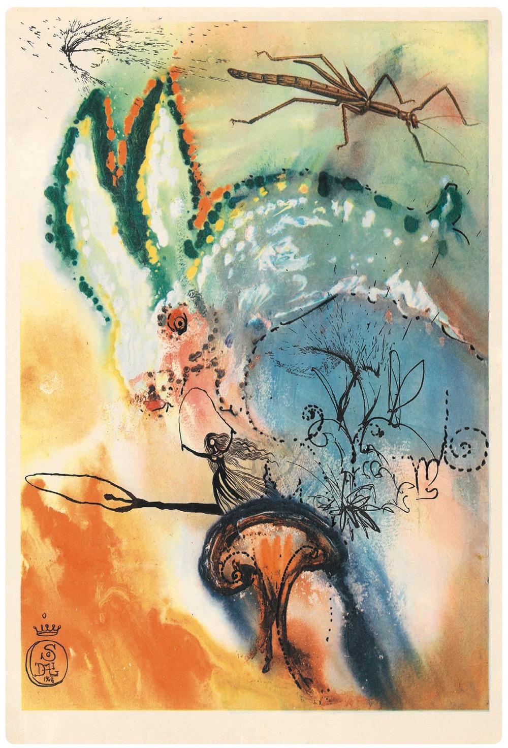 Dalí y Alicia en el País de las Maravillas 1