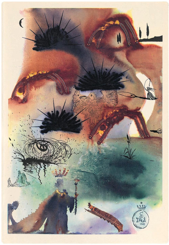 Dalí y Alicia en el País de las Maravillas 11