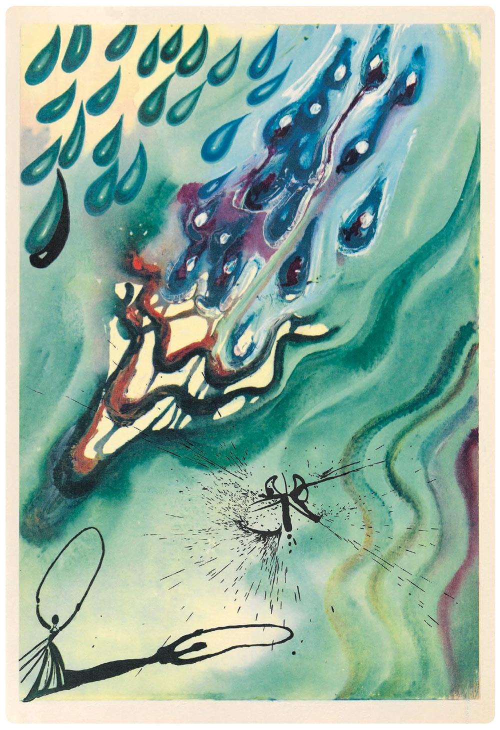 Dalí y Alicia en el País de las Maravillas 2