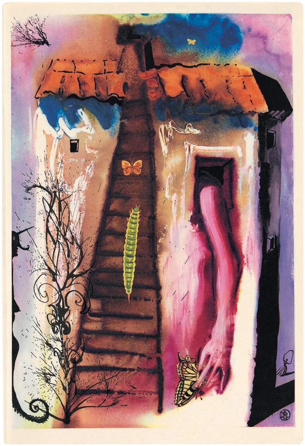 Dalí y Alicia en el País de las Maravillas 3