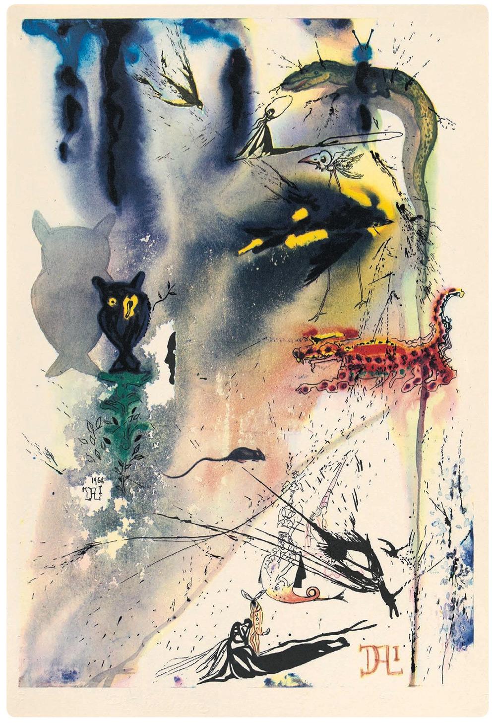 Dalí y Alicia en el País de las Maravillas 4